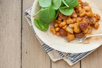 Chorizo with white beans
