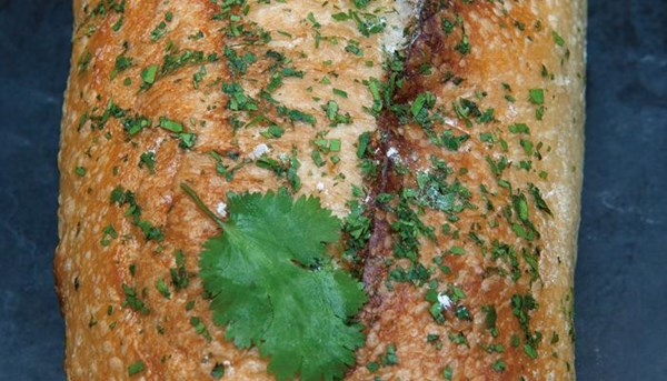 cilantro and red onion bread