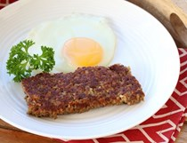 Cincinnati sausage grain patties (Goetta)
