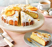 Citrus, almond & yogurt cake