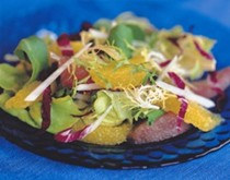Citrus salad with champagne vinaigrette
