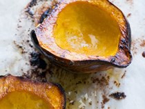 Classic brown-sugar-roasted acorn squash [Todd Porter and Diane Cu]