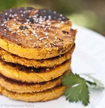 Clean eating sweet potato cakes