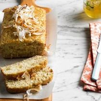 Coconut-lime bread