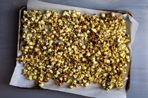 Coconut sugar caramel corn