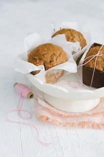Confetti carrot cake muffins or tea bread