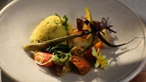 Couscous with mountain vegetables