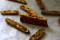 Cranberry-orange-walnut biscotti