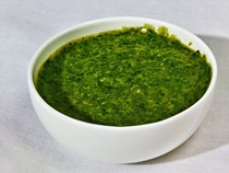 Creamed-spinach sauce