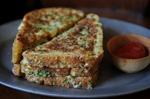 Crispy salt-and-pepper French toast