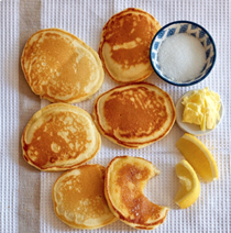 Daddy's pikelets (drop scones)