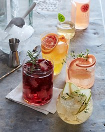 DIY spritz bar