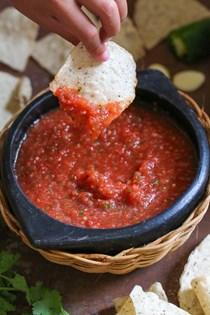 Easy no-cook salsa