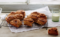 Elise' cinnamon rolls, using Belle's bread recipe