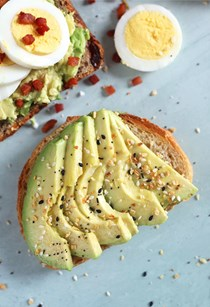 Everything bagel spice avocado toast