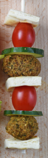 Falafel on a stick