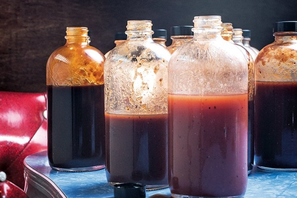 Fig ancho beer barbecue sauce