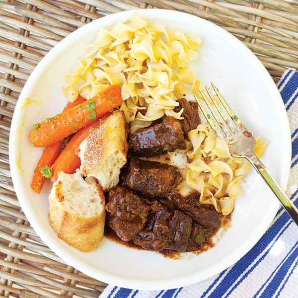Beef carbonnade from Saveur magazine