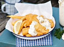 Fraser's fried fish & my fast chips