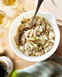 Fresh & simple crab salad