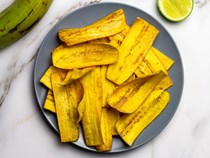 Fried plantain chips
