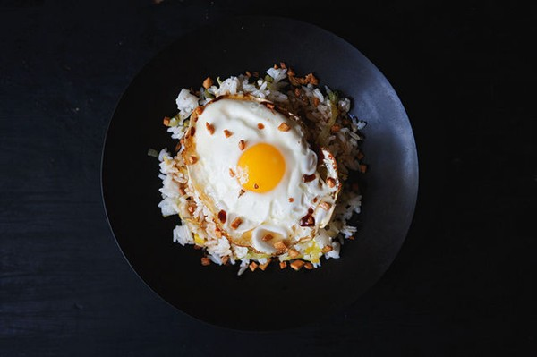 Ginger fried rice [Jean-Georges Vongerichten & Mark Bittman]