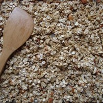 Ginger-molasses granola