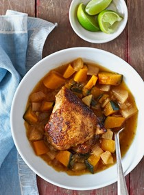 Gingery chicken stew