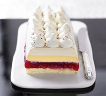 Glam trifle slice