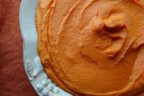 Golden carrot souffle