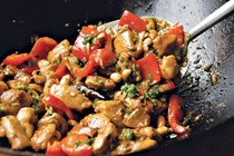 Grace Young's kung pao chicken