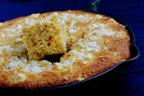 Greek feta corn bread