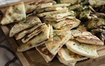 Greek pita bread for souvlaki