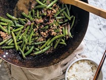 Green beans & minced pork
