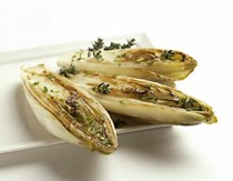 Griddled endive