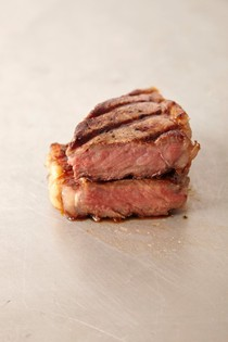 Grilled or broiled steak