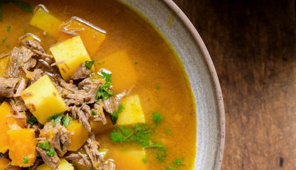 Haitian Pumpkin And Beef Soup Soup Joumou Recipe Eat Your Books