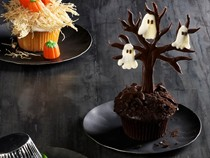Haunted forest cupcakes
