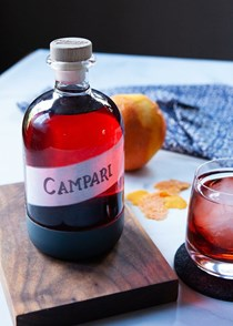 Homemade Campari