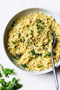 Homemade rice pilaf (healthy Rice-a-Roni)