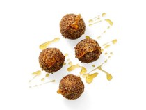 Honey-oat power balls