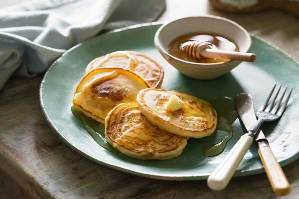 honey pikelets