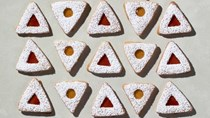 Honey-vanilla Linzer cookies