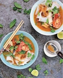 Hot & sour fish stew (Tom yum goong)