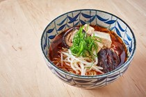 Hot and sour dashi ramen