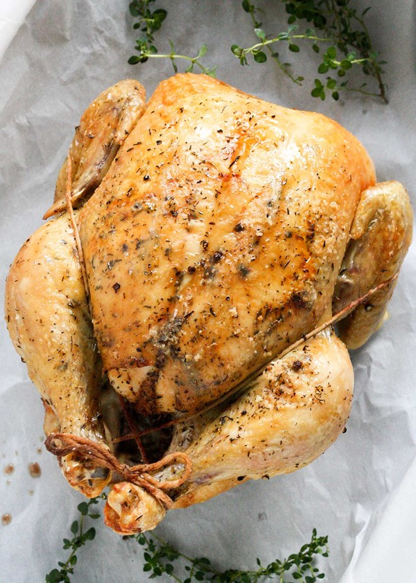 How to get crispy, golden skin on your turkey