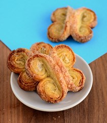 How to make butterfly palmiers