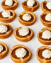 How to make easy 5-ingredient mini pumpkin pies