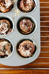 How to make eggplant roses