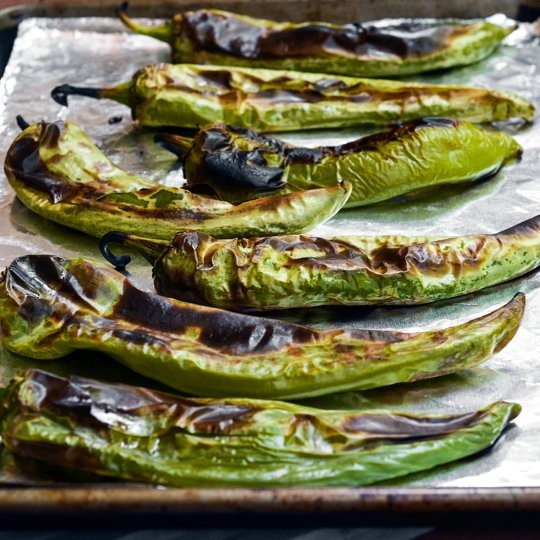 How to roast & freeze green chiles